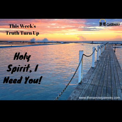 Holy Spirit, I Need You!